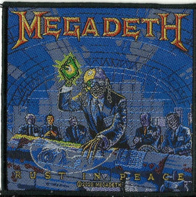 Megadeth - Rust In Peace Sew-On Patch