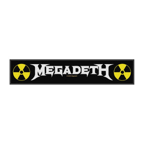 Megadeth - Logo Strip Sew-On Patch