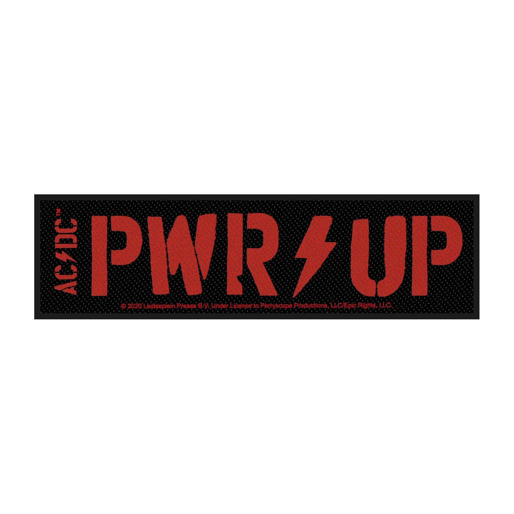 ACDC - PWR UP Strip Sew-On Patch