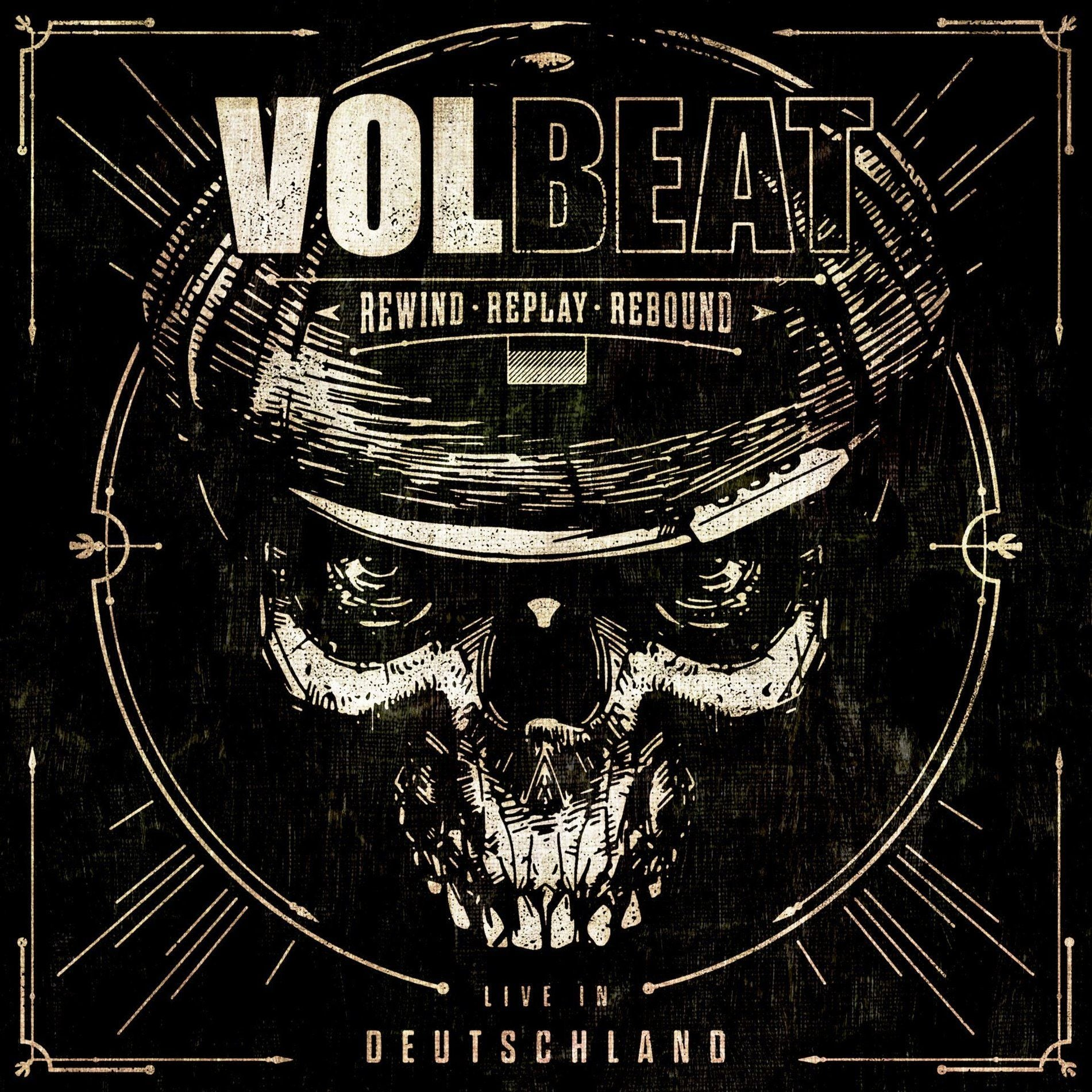 Volbeat - Rewind Replay Rebound Live In Deutschland (live 2CD) - CD - New