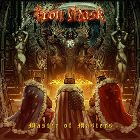 Iron Mask - Master Of Masters - CD - New