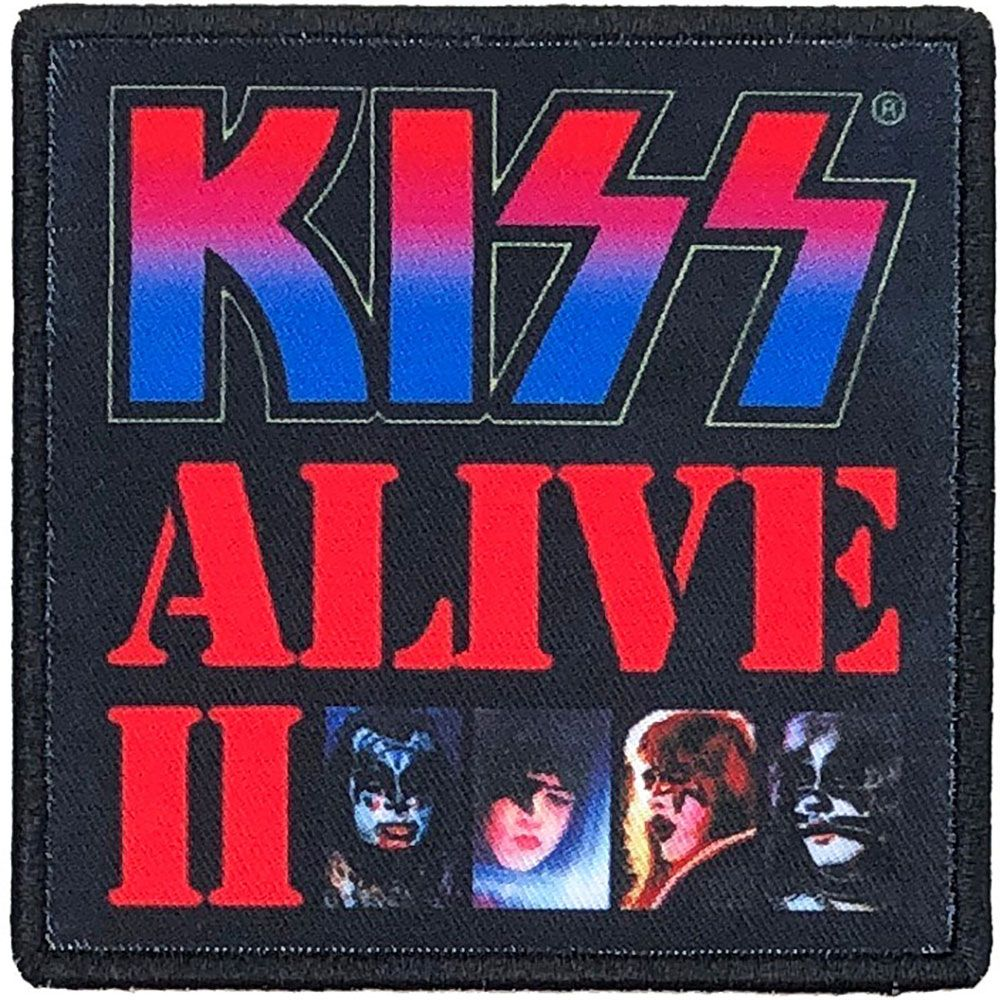 Kiss - Alive II Sew-On Patch