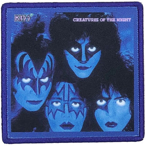 Kiss - Creatures Of The Night Sew-On Patch