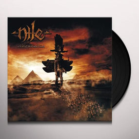 Nile - Ithyphallic (Ltd. Ed. 2019 2LP Clear w. White/Orange Splatter Vinyl gatefold reissue) - Vinyl - New