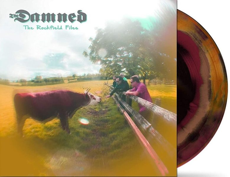 Damned - Rockfield Files, The (Ltd. Ed. Black/Brown Purple Swirl Vinyl 12 Inch EP) - Vinyl - New