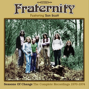Fraternity (feat. Bon Scott) - Seasons Of Change - The Complete Recordings 1970-1974 (Livestock/Flaming Galah/Second Chance) (3CD box set) - CD - New