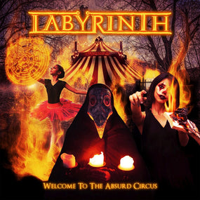 Labyrinth - Welcome To The Absurd Circus - CD - New