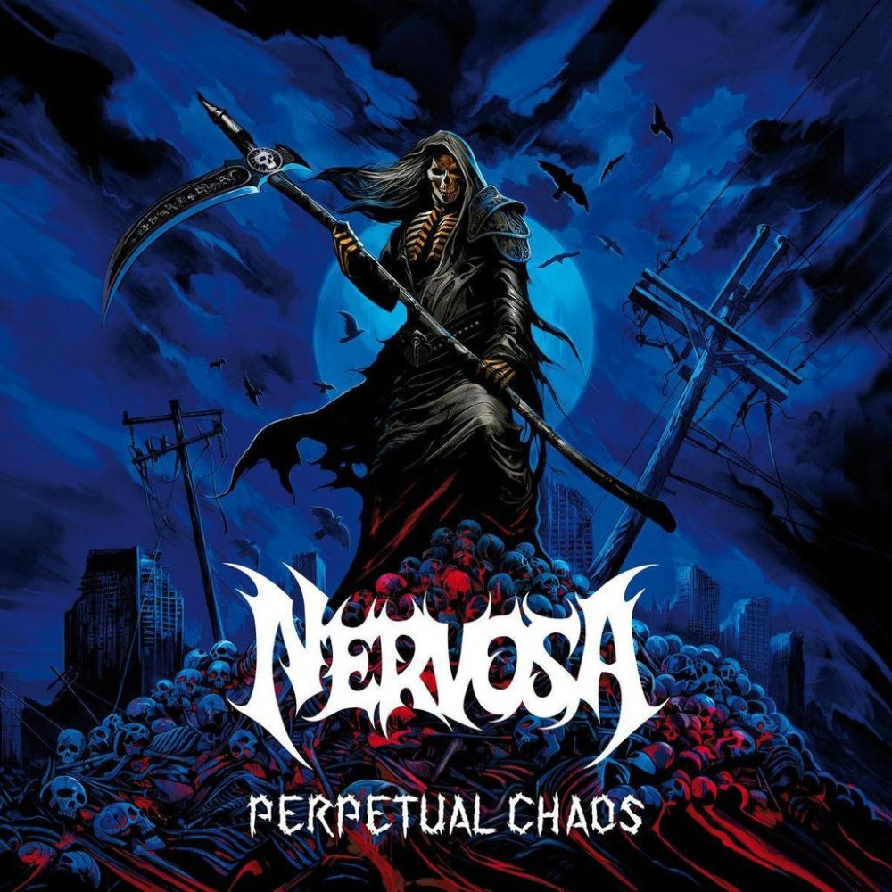 Nervosa - Perpetual Chaos - CD - New