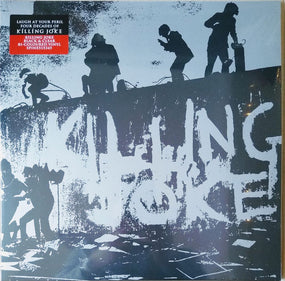 Killing Joke - Killing Joke (40th Ann. Black & Clear Bi-Coloured Vinyl gatefold reissue) - Vinyl - New