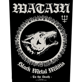 Watain - Black Metal Militia - Sew-On Back Patch