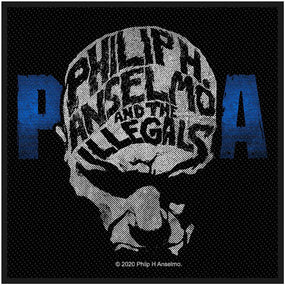 Anselmo, Phillip H. And The Illegals- Face Woven Sew-On Patch