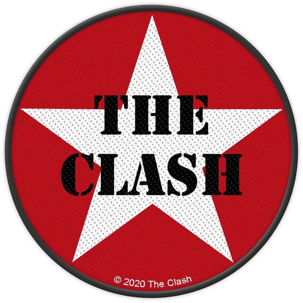 Clash - Military Logo Woven Sew-On Patch