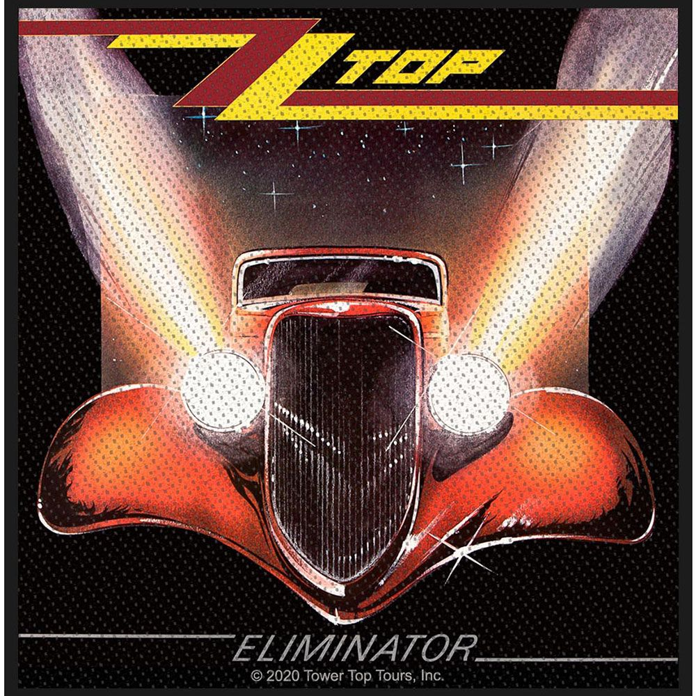 ZZ Top - Eliminator Woven Sew-On Patch