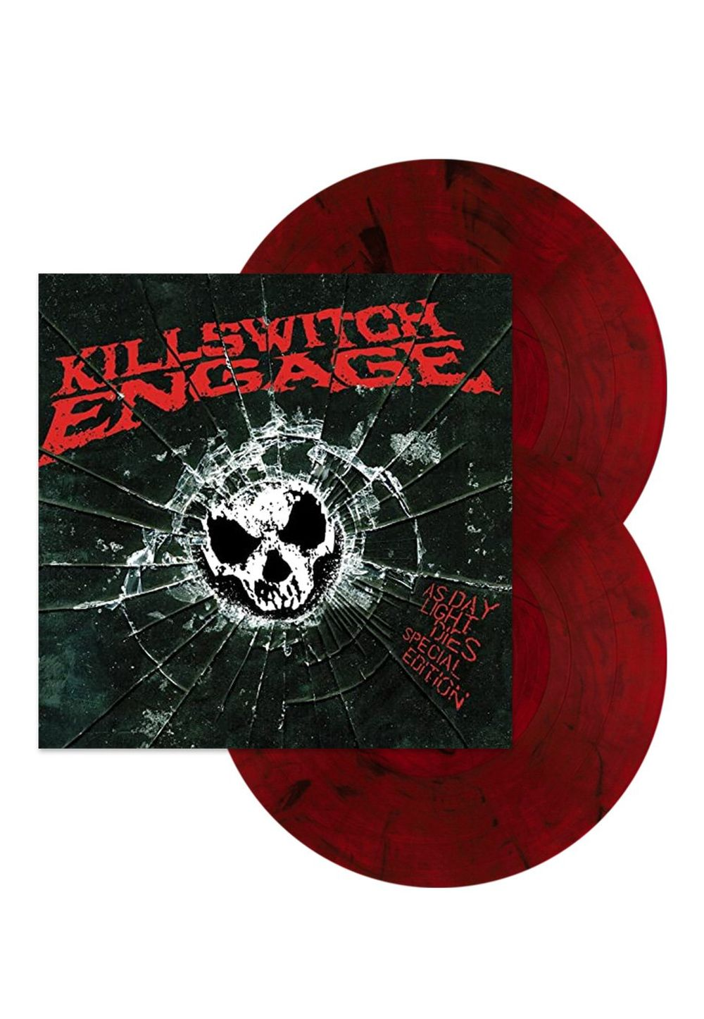Killswitch Engage - As Daylight Dies (Deluxe Numbered 2LP Red & Black Vinyl)  - Vinyl - New