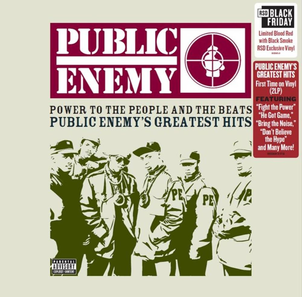 Public Enemy - Power To The People And The Beats - Public Enemy's Greatest Hits (Ltd. Ed.  2LP Blood Red w. Black Smoke Vinyl gatefold) - Vinyl - New