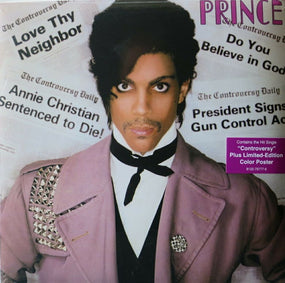 Prince - Controversy (2016 180g reissue w. ltd. ed. poster) - Vinyl - New