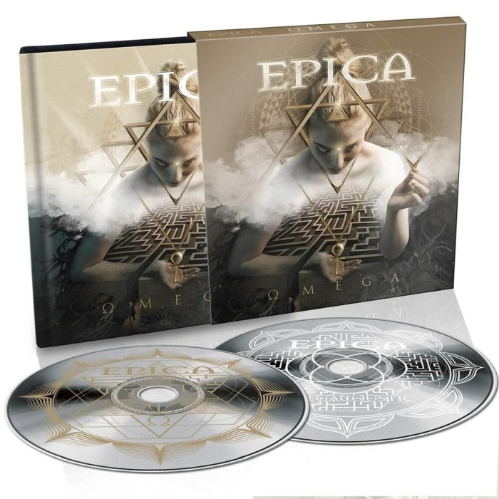 Epica - Omega (Ltd. Ed. 2CD digibook) - CD - New