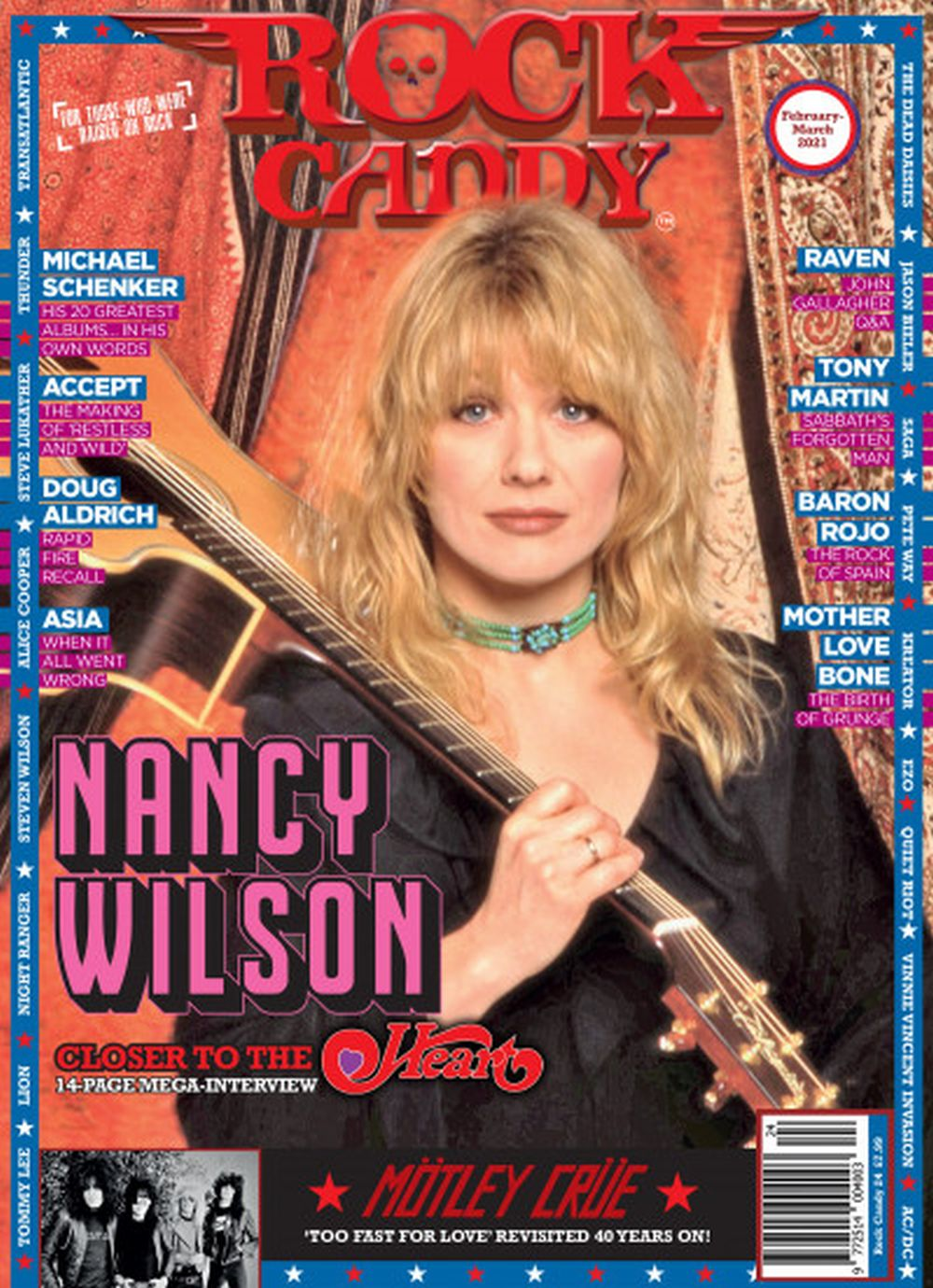 Rock Candy Magazine - Issue 24 - February - March 2021