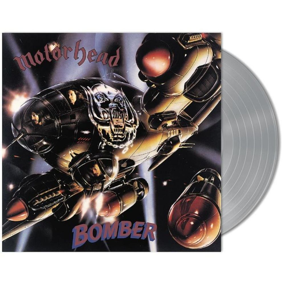 Motorhead - Bomber (Ltd. Ed. Silver Coloured Vinyl) - Vinyl - New