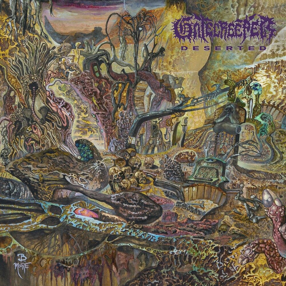 Gatecreeper - Deserted (Ltd. Ed. Neon Violet w. Splatter Vinyl) - Vinyl - New