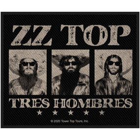 ZZ Top - Tres Hombres Sew-On Patch