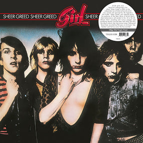 Girl - Sheer Greed (180g 2019 gatefold reissue) - Vinyl - New