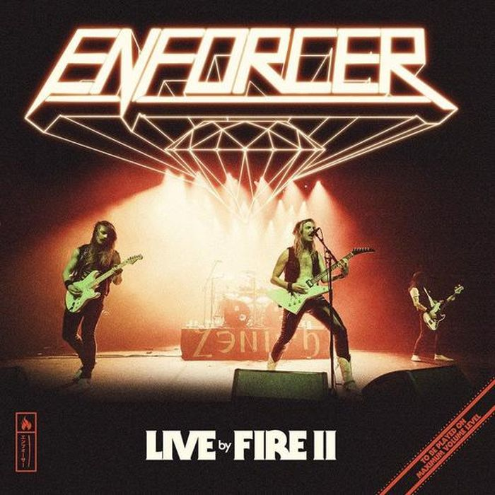 Enforcer - Live By Fire II - CD - New
