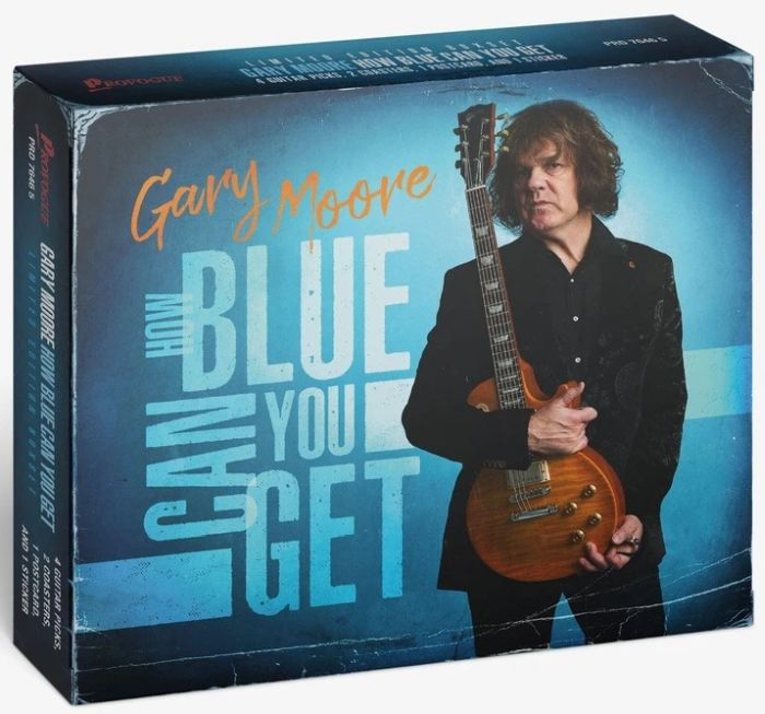 Moore, Gary - How Blue Can You Get (Ltd. Ed. CD Box w.  4 guitar picks, 2 coasters, postcard + sticker) - CD - New