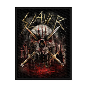 Slayer - Skull & Swords Sew-On Patch