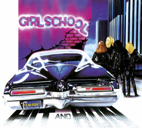 Girlschool - Hit And Run (Ltd. Ed. Clear Vinyl gatefold) - Vinyl - New