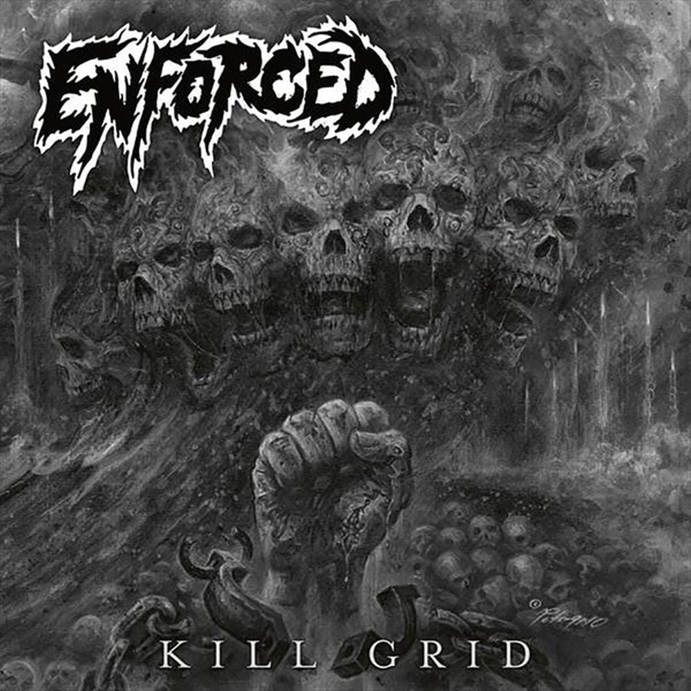 Enforced - Kill Grid - CD - New