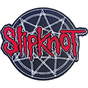 Slipknot - Cut-out Logo & 9 Point Sew-On Patch