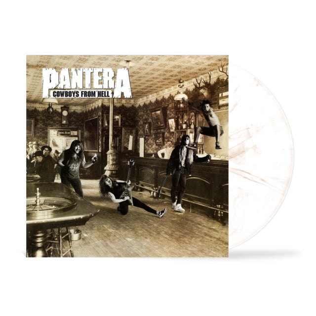 Pantera - Cowboys From Hell (Ltd. Ed. 2021 White & Whiskey Brown Marbled Vinyl reissue) - Vinyl - New