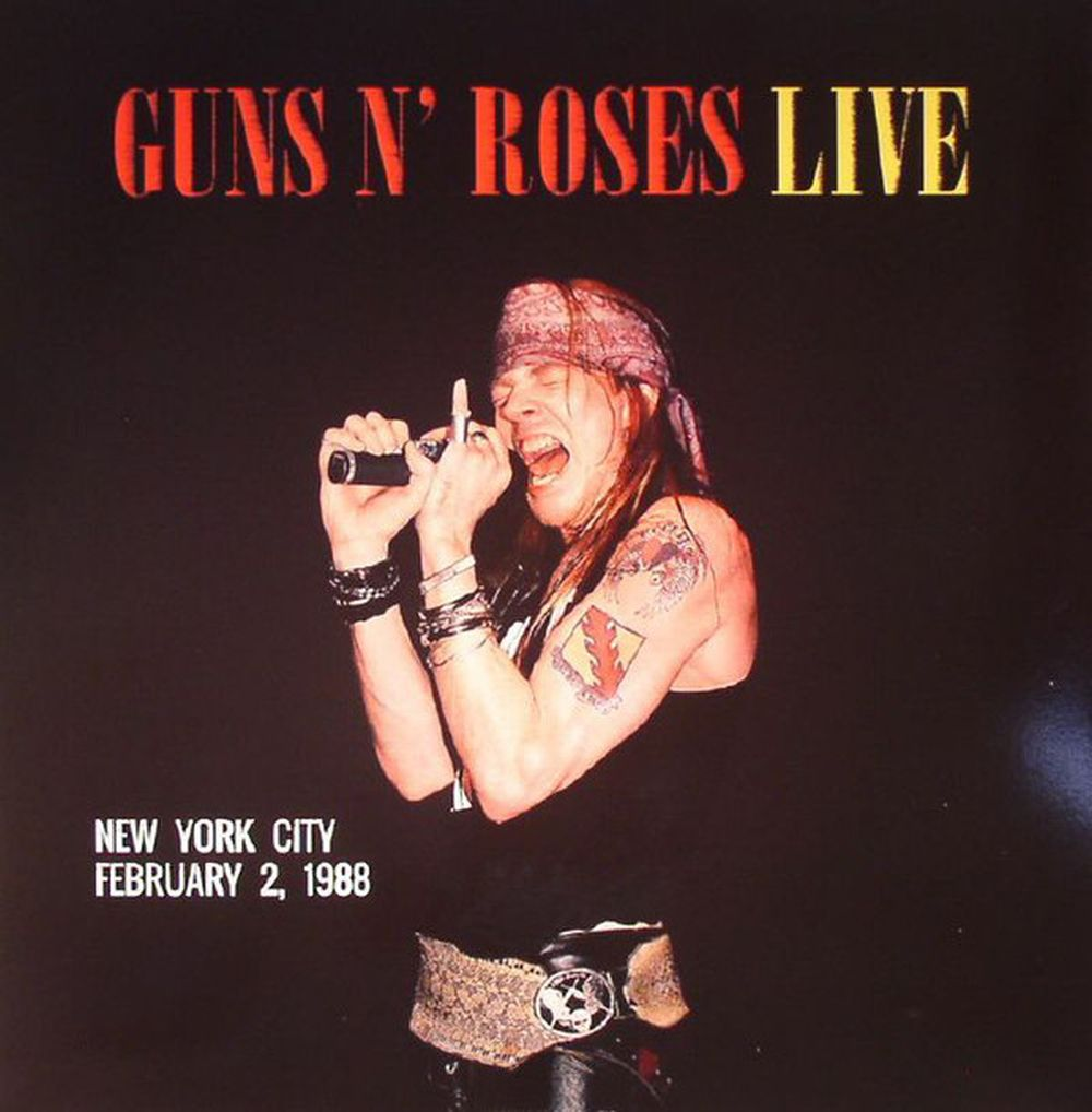 Guns N' Roses - Live - New York City February 2, 1988 (180g Coloured Vinyl) - Vinyl - New