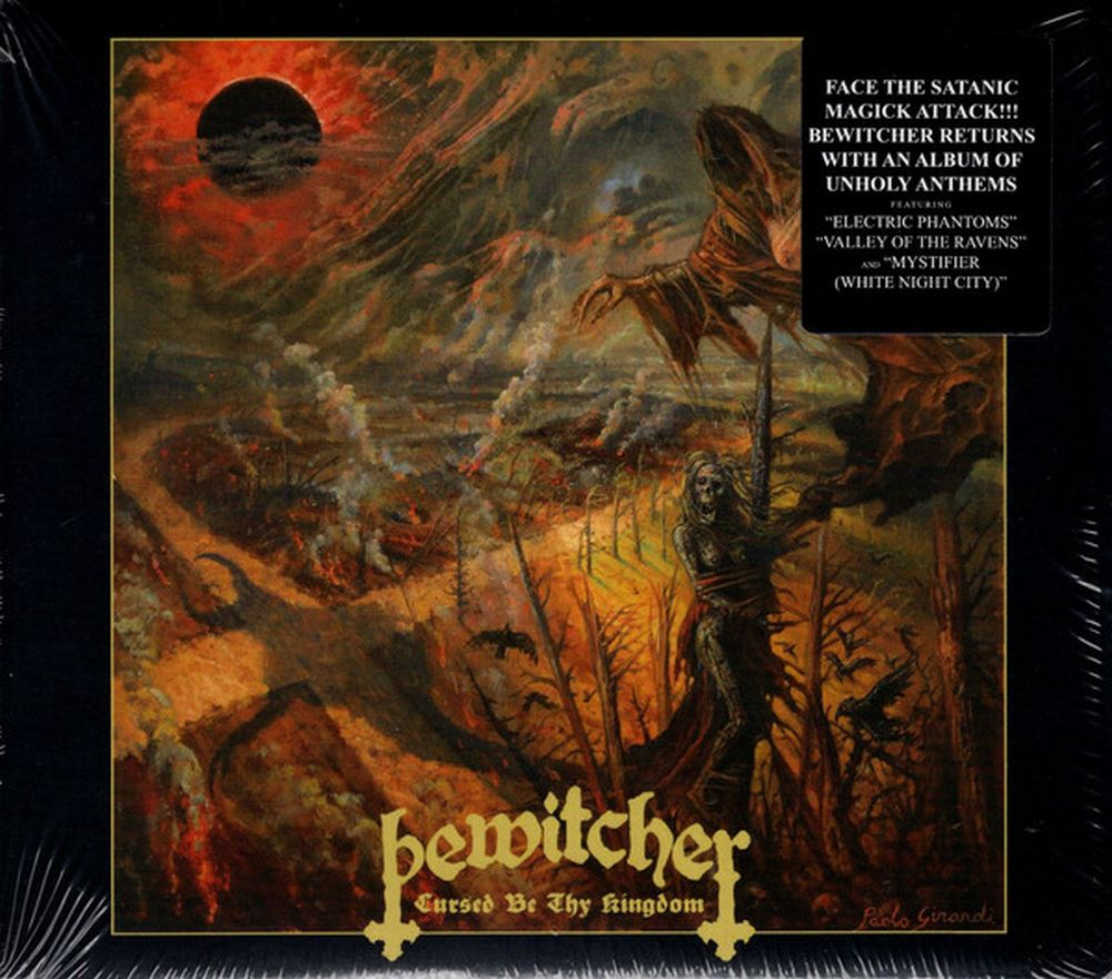 Bewitcher - Cursed Be Thy Kingdom - CD - New