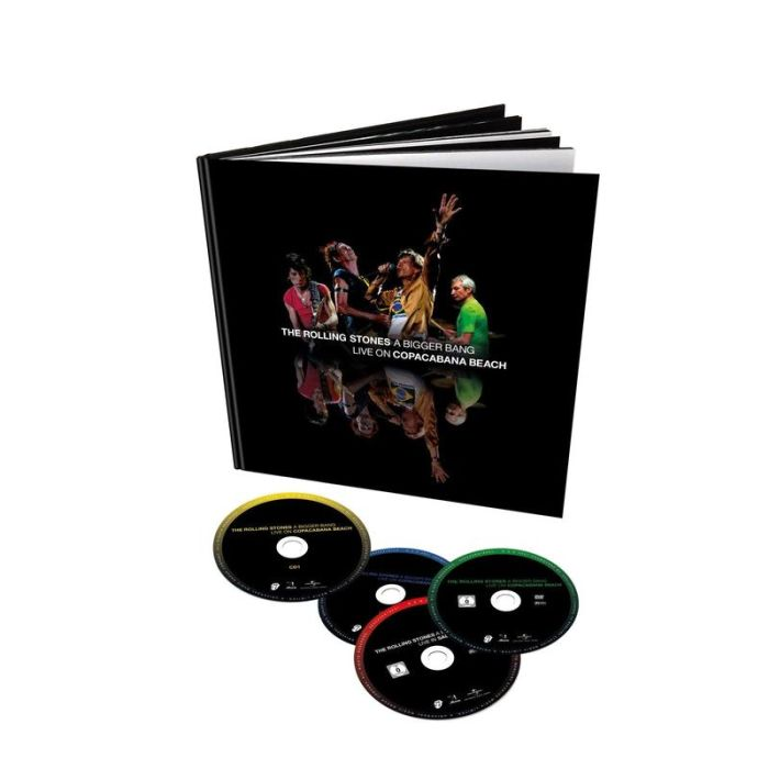 Rolling Stones - Bigger Bang, A - Live On Copacabana Beach (Deluxe Ed. 2CD/2xBlu-Ray Bookpack) (RA/B/C) - CD - New - PRE-ORDER