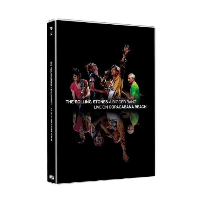 Rolling Stones - Bigger Bang, A - Live On Copacabana Beach (R0) - DVD - Music - PRE-ORDER