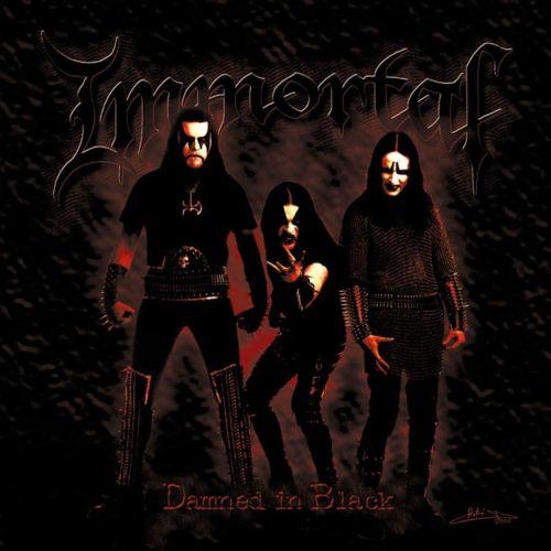 Immortal - Damned In Black - CD - New