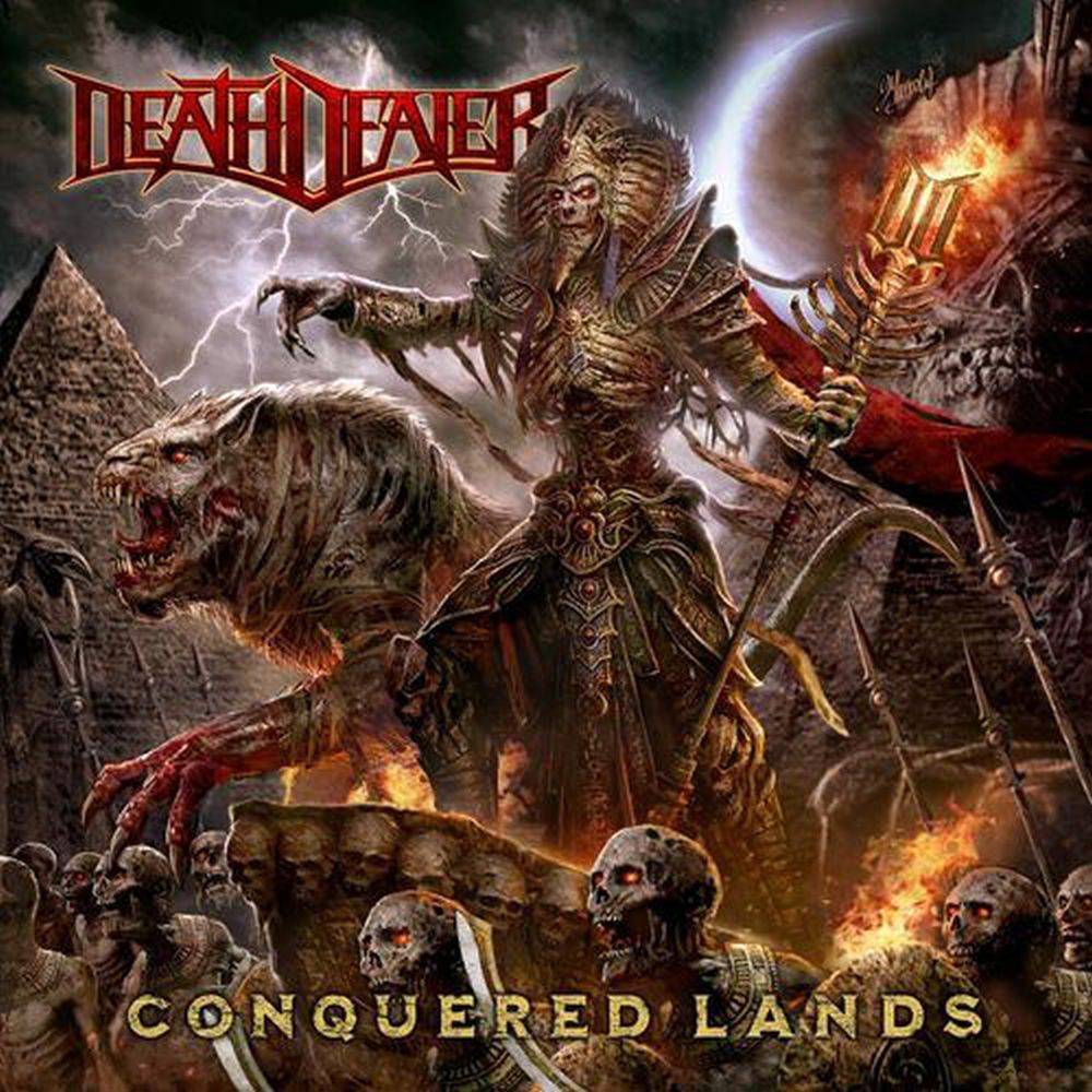 Death Dealer - Conquered Lands (Ltd. Ed. 2LP Red Vinyl gatefold) - Vinyl - New