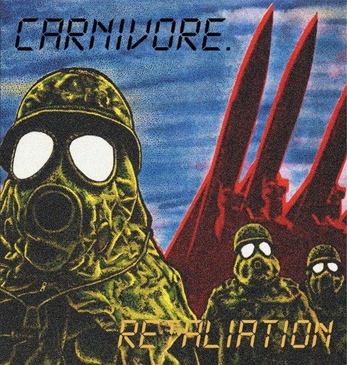 Carnivore - Retaliation (2018 reissue w. 3 bonus tracks) - CD - New