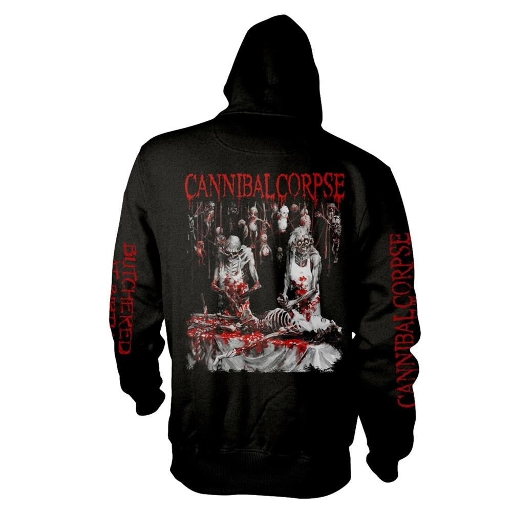 Cannibal Corpse - Butchered At Birth Black Zip Hoodie