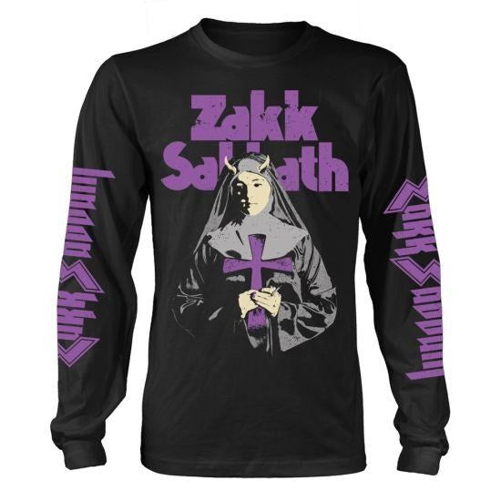 Black Label Society - Zakk Wylde Zakk Sabbath Nun Black Long Sleeve Shirt