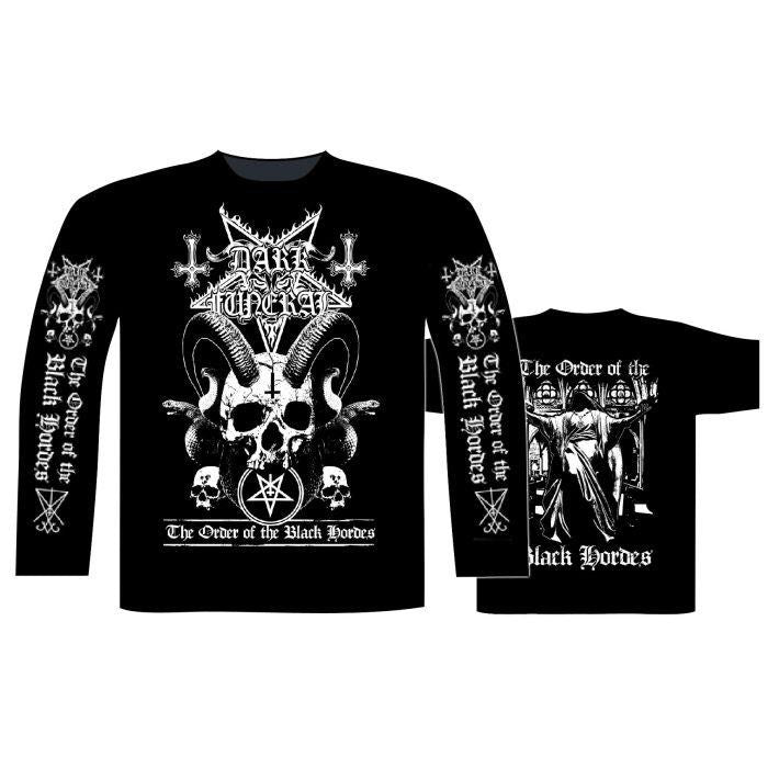 Dark Funeral - Order Of The Black Horde Black Long Sleeve Shirt