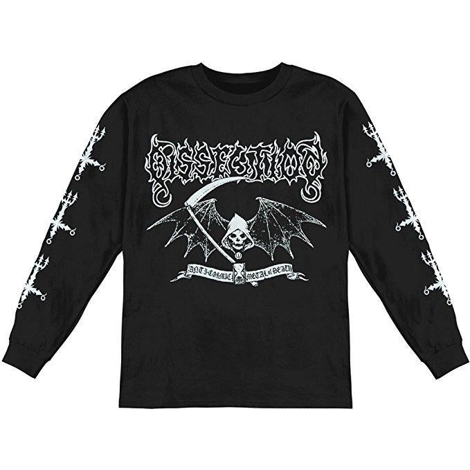 Dissection - Reaper Black Long Sleeve Shirt