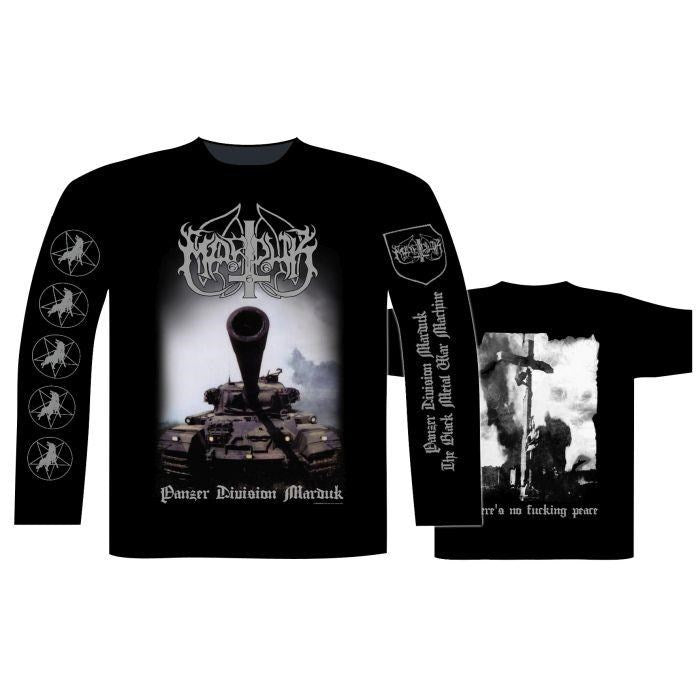 Marduk - Panzer Division 20th Anniversary Black Long Sleeve Shirt