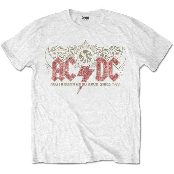 ACDC - Australian Hard Rock since 1973 White Shirt
