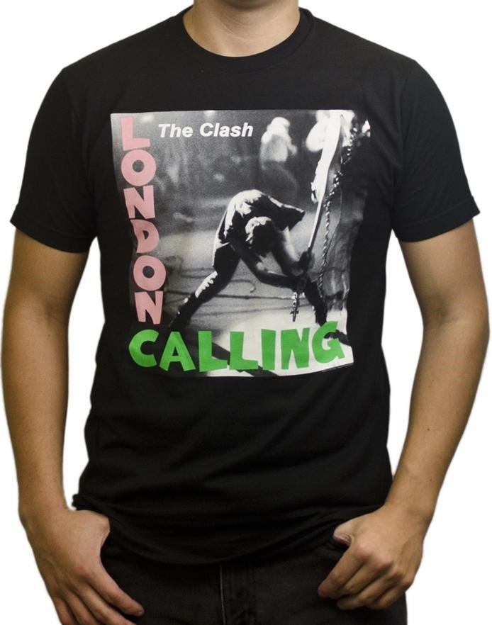 Clash, The - London Calling Black Shirt