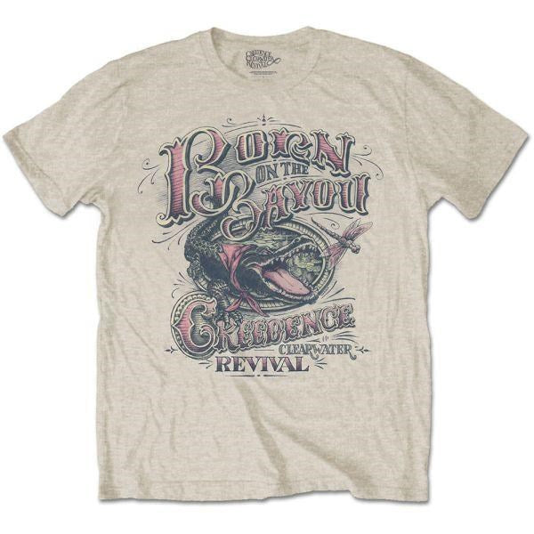 Creedence Clearwater Revival - Born On The Bayou Sand Shirt