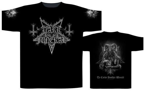 Dark Funeral - To Carve Another Wound Black Shirt
