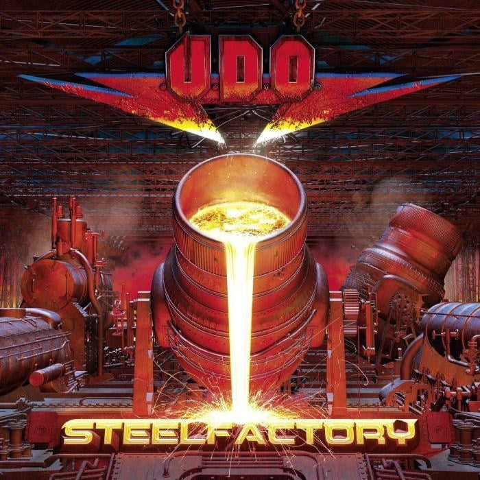 U.D.O. - Steelfactory (Ltd. Ed. digi. w. 2 bonus tracks) - CD - New